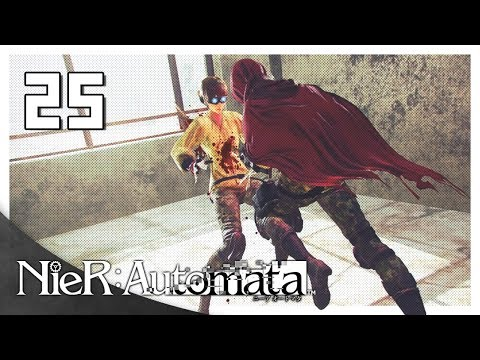 Let's Play NieR: Automata Blind Part 25 - Type-E [NieR 2017 PC Gameplay]