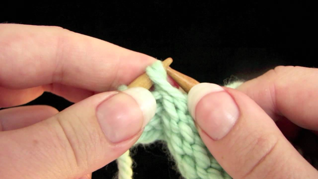 Knitfreedom How To Hide Purl Wraps A Short Row Trick For Invisible