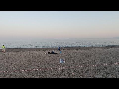 Campionato del Mondo SurfCasting Catanzaro. Manche Di prova