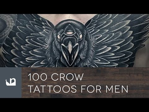100 Crow Tattoos For Men