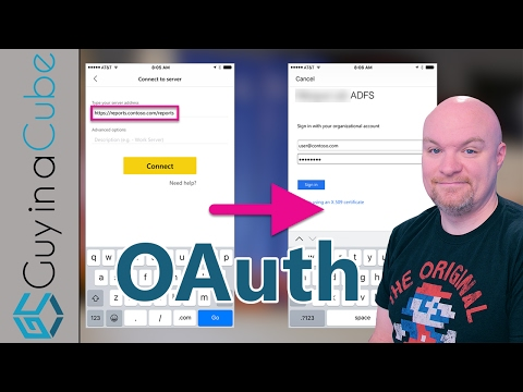Connect From Power BI Mobile To SSRS Using OAuth