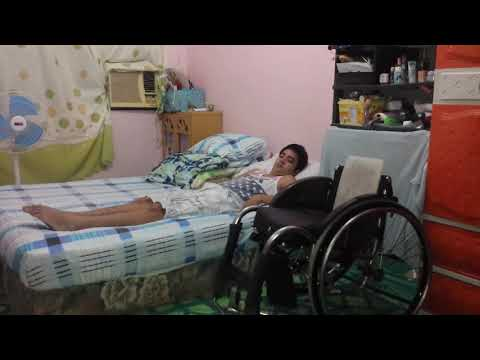 Wheelchair to Bed Transfer - c5 c6 c7 Quadriplegic - spinal cord injury