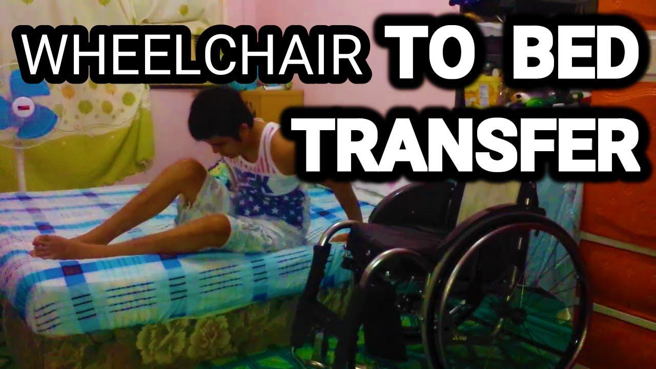 Wheelchair To Bed Transfer C5 C6 C7 Quadriplegic