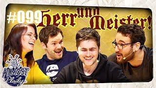 Ja, Herr und Meister! mit Gunnar, Nasti, Ilyass & Fabian Kr. | Almost Plaily #99