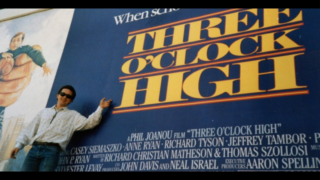 three oclock high1987 movie review youtube