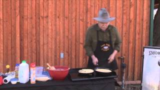 Sporting Chef Tv - Cee Dub - Making Cast Iron Cornbread