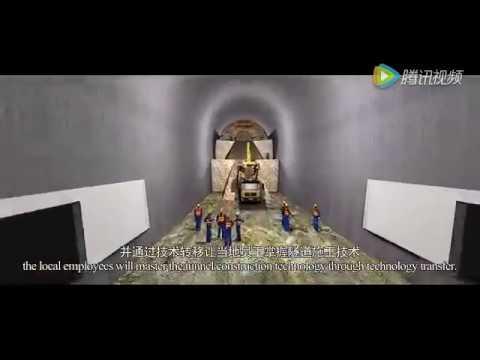 Longest tunnel in Kenya - thanks to SGR