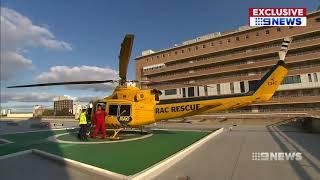 Helicopter Upgrade at Royal Perth Hospital | 9 News Perth
