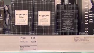 Цены Duty Free. Парфюмерия цены Duty Free  в Амстердаме(, 2013-08-03T14:42:09.000Z)