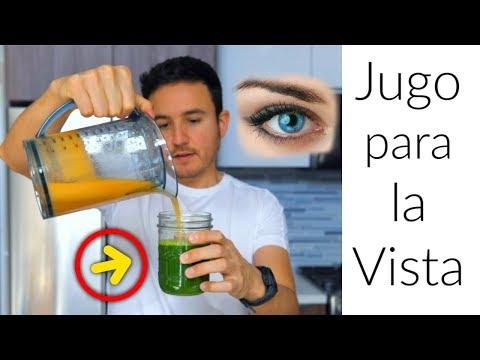 Como Mejorar la Vista con este JUGO + Cataratas Ojos