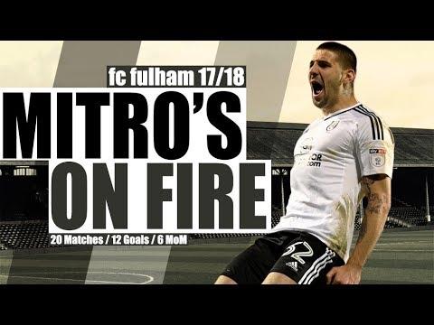 Aleksandar Mitrović ● FC Fulham ● Striker ● FC Fulham Goals 2017/18