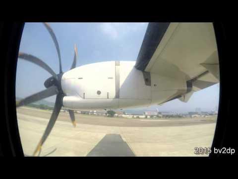 2015.9 立榮航空Uni Air ATR72-600 臺北松山機場TSA - 臺東機場 TTT 航程景
