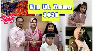 Eid Ul Adha 2021 | Going to India 🇮🇳 | Bakrid 2021 ~ Vacation / Gift shopping 🛍 for India Visit