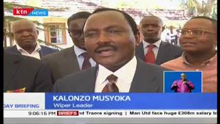 Kalonzo hold talks with former head of state Moi, both emphasized on need for peace