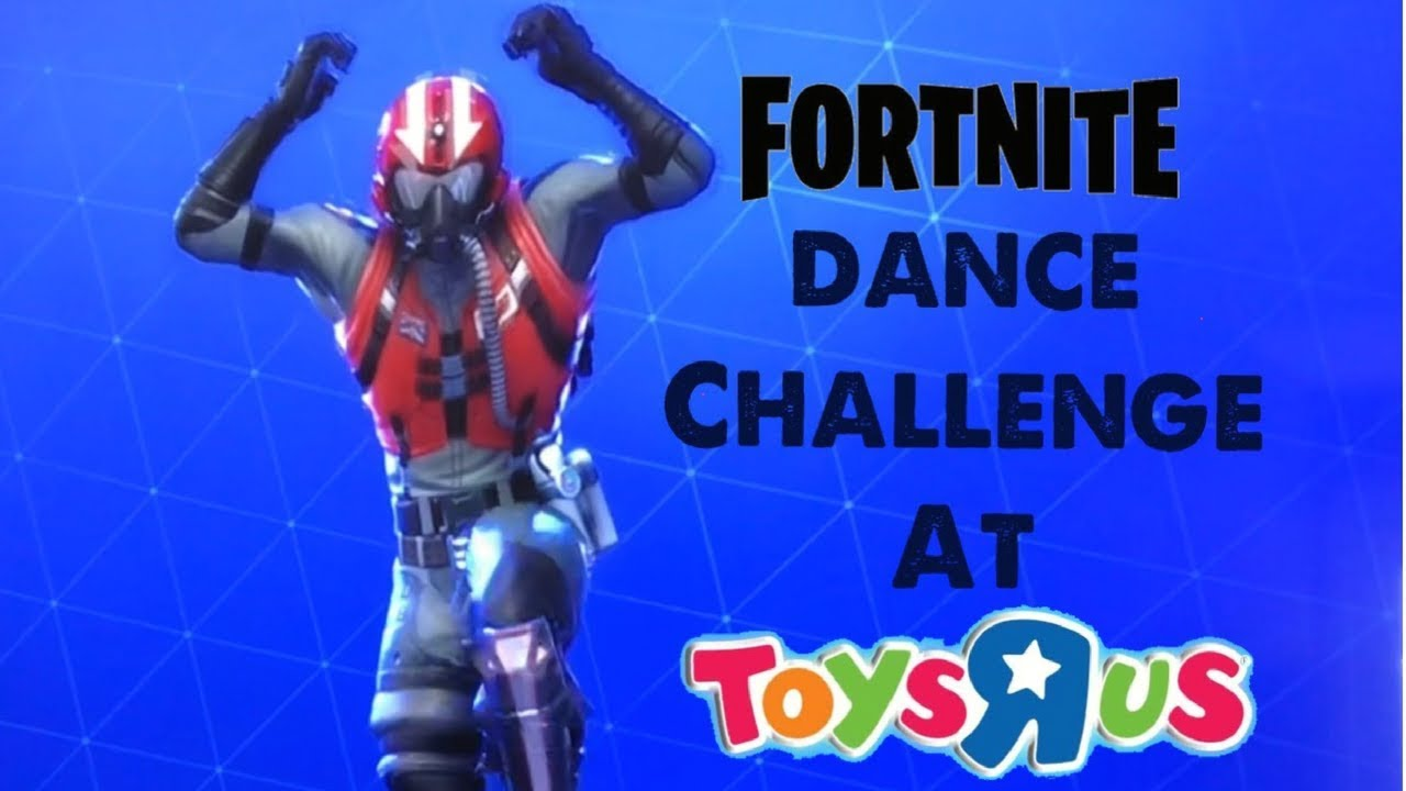 Fortnite Dance Challenge At Toys R Us In Real Life Youtube