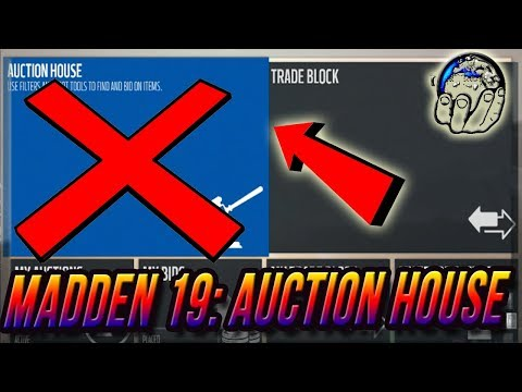 Madden 19: EA may permanently remove the auction house to stop Coin Selling