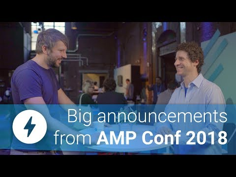 JavaScript in AMP & New URL structures at AMP Conf 2018