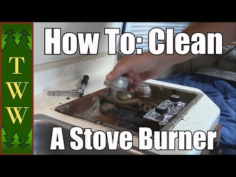 Cleaning Your RV Stove Burner