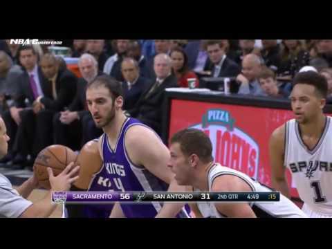 Sacramento Kings vs San Antonio Spurs   Full Game Highlights  March 8 2017