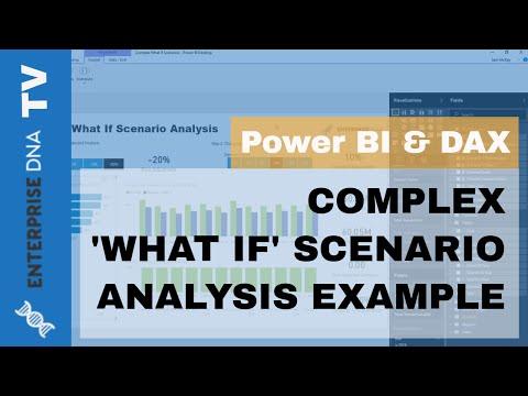 What If' Analysis Techniques For Power BI - Microsoft Power BI Community