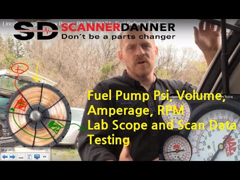 An SD Premium Class On Fuel System Testing And Trouble Codes P0171, P0174