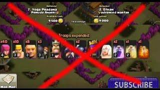 COC Base TH 7 Anti PEKKA Clash of Clans Super Mania