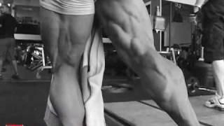 Muscular Development Bodybuilding Videos   Charles Glass takes Pedro Barron through final prep  2009 Europa
