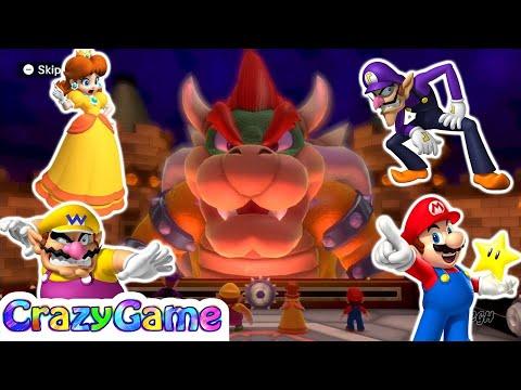 Mario Party 10 Bowser Party #26 Chaos Castle (Team Bowser)