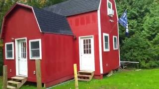 12x24 with 8x12 addition two story barn cabin man cave she shed tiny house bar diy