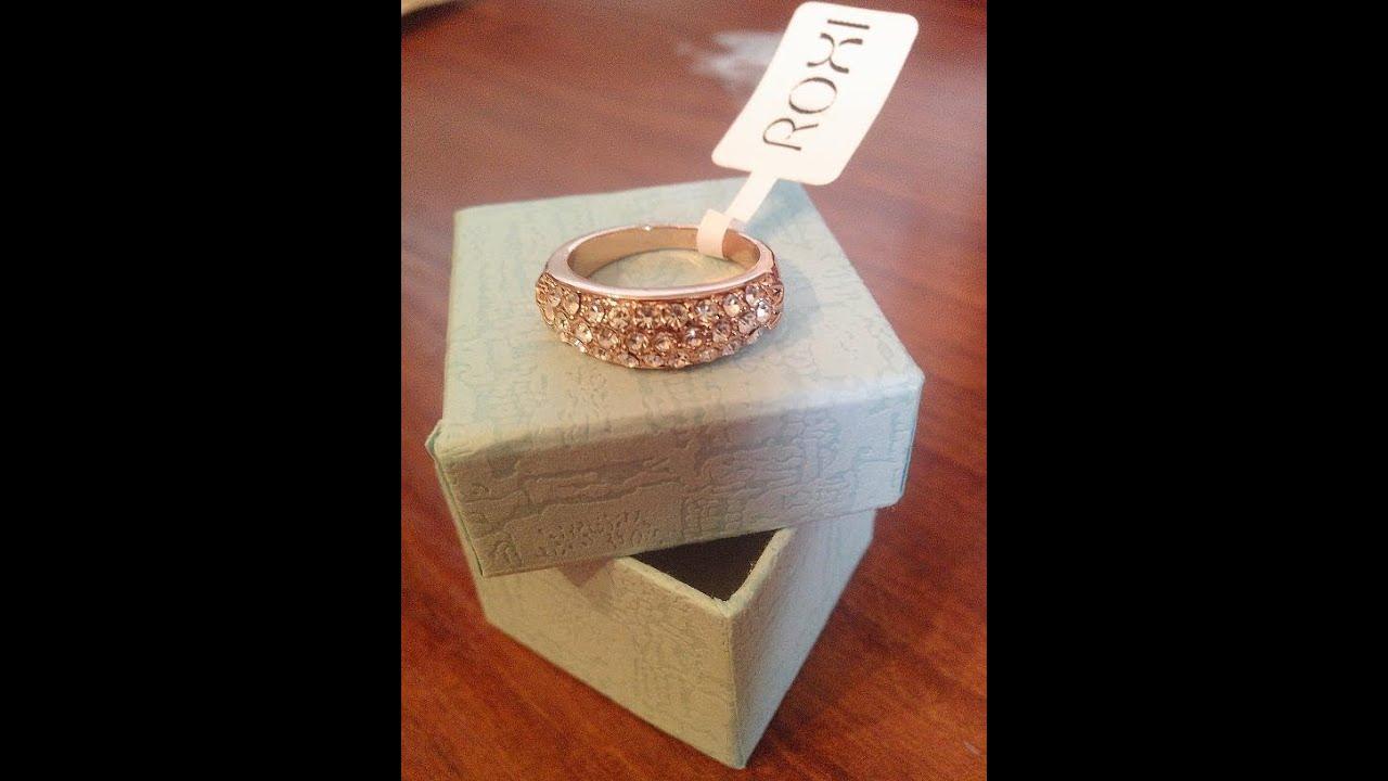 Aliexpress Посылка из Китая(золотое кольцо с камнями, бижутерия .