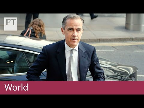 Mark Carney talks Brexit and the financial crisis