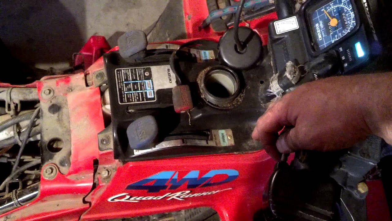maxresdefault suzuki 250 thanks for the help dad! youtube 1987 suzuki 250 quadrunner wiring diagram at reclaimingppi.co