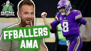 Fantasy Football 2020 - Footballers AMA + Beat the Ballers, Chunky Life - Ep. #849