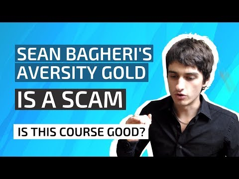 "Sean Bagheri's ""Aversity Gold Masterclass"" COURSE REVIEW 