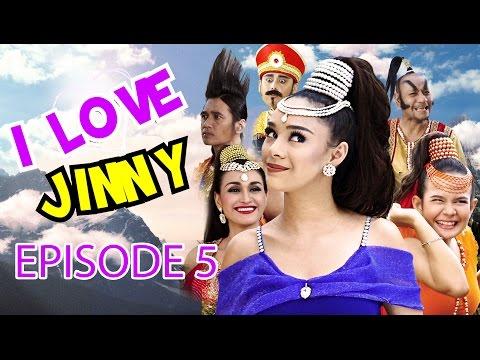 Vinny Dikutuk Jadi Beku Oleh Jin Gembok! Bisakah Jinny Menyelamatkannya?