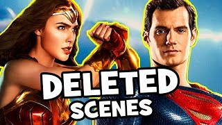 Justice League DELETED SCENES & Missing Characters Explained