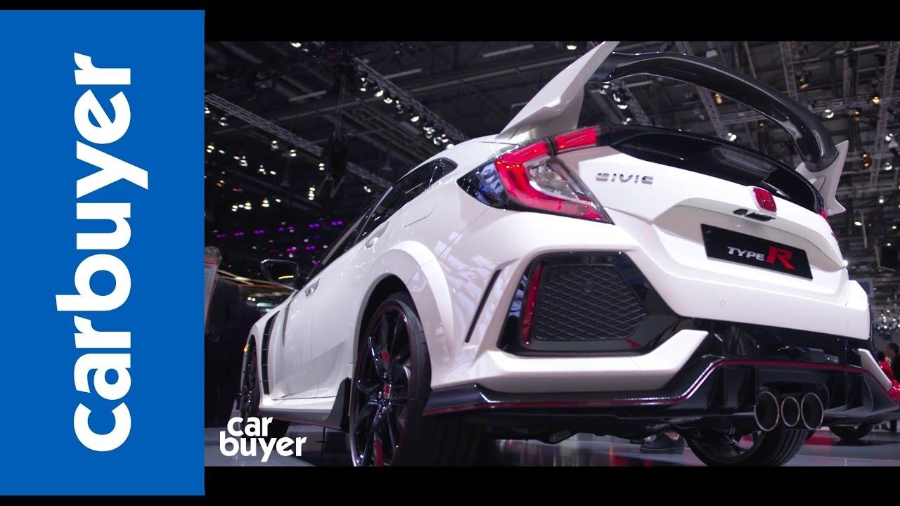 New Honda Civic Type R walkaround –Geneva Motor Show 2017 - Dauer: 63 Sekunden