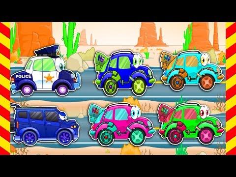 Развивающие мультфильмы про машинки Вилли 3 серия. Развивающие мультфильмы для детей от 4 лет.