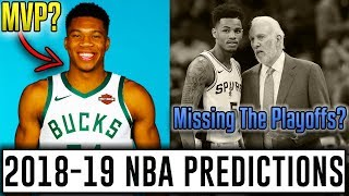 2018-19 NBA Season Predictions: Western Conference And Award Races