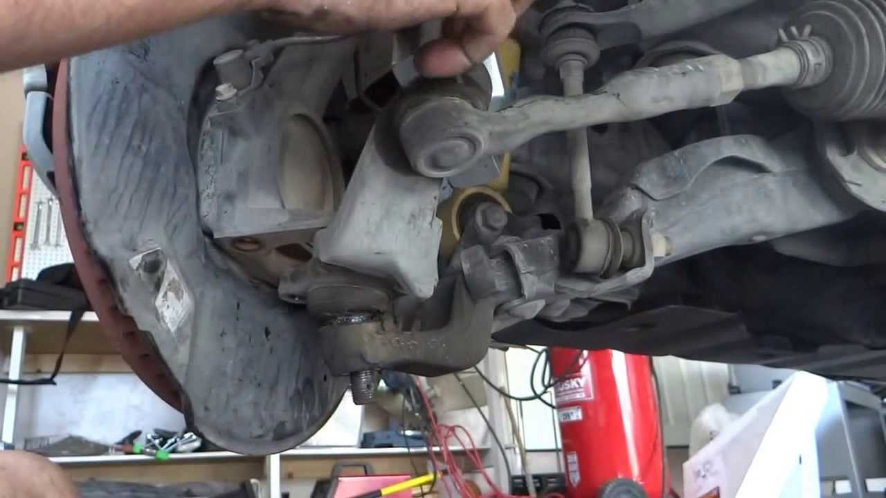 2005 Toyota Tundra Suspension Diagram Not Lossing Wiring 2001 Sequoia Parts Ball Joint Removal Separator Tie Rods Youtube Rh Com Front