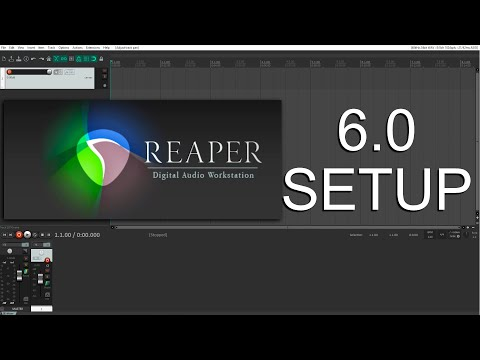 Reaper 6 Setup From Scratch - Defaults To Be Aware Of