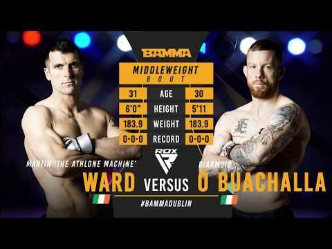 BAMMA 35: Martin Ward vs Diarmuid O'Buachalla