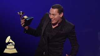 Tiësto Wins Best Remixed Recording, Non-Classical | GRAMMYs