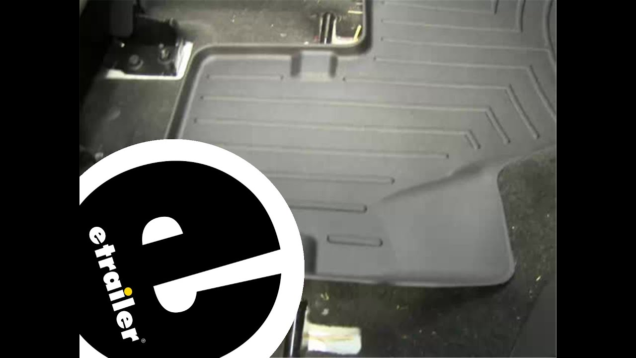 review of the weathertech 3rd row rear floor liner on a 2012 ford explorer etrailercom