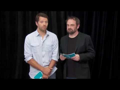 Misha Collins & Mark Sheppard - Comic Con Fan Q&A (slovenské titulky)