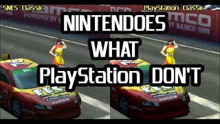 PlayStation Classic vs SNES Classic : NINTENDOES what SONY DON