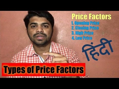 Types of Price Factors in Stock Market ? [hindi]