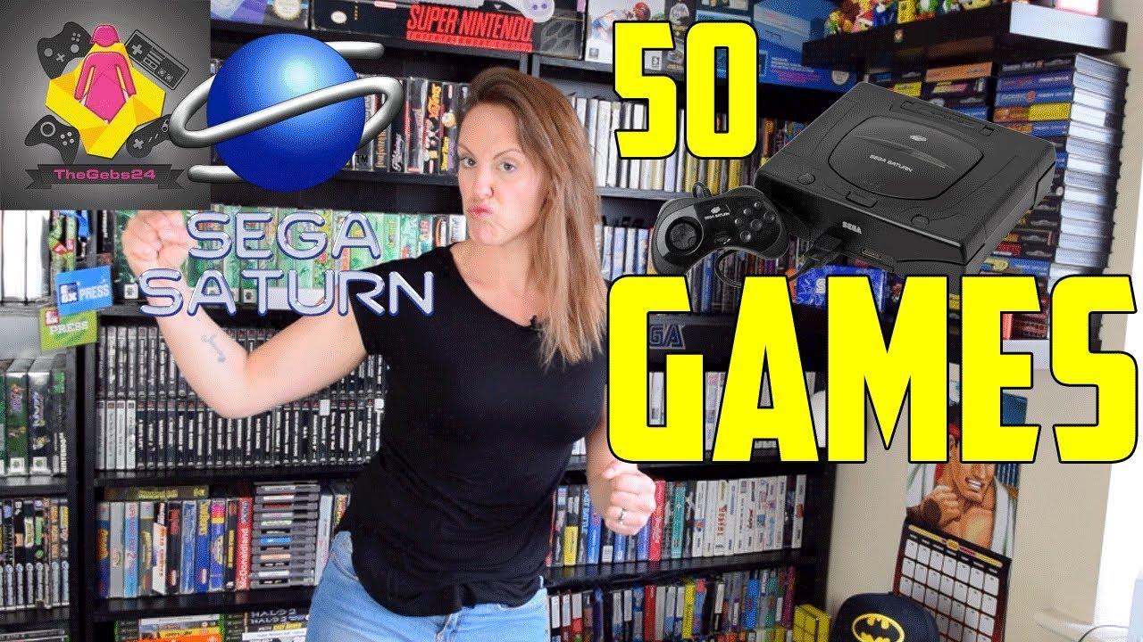 Sega Saturn Collecting Rate My Collection 50 Sega Saturn