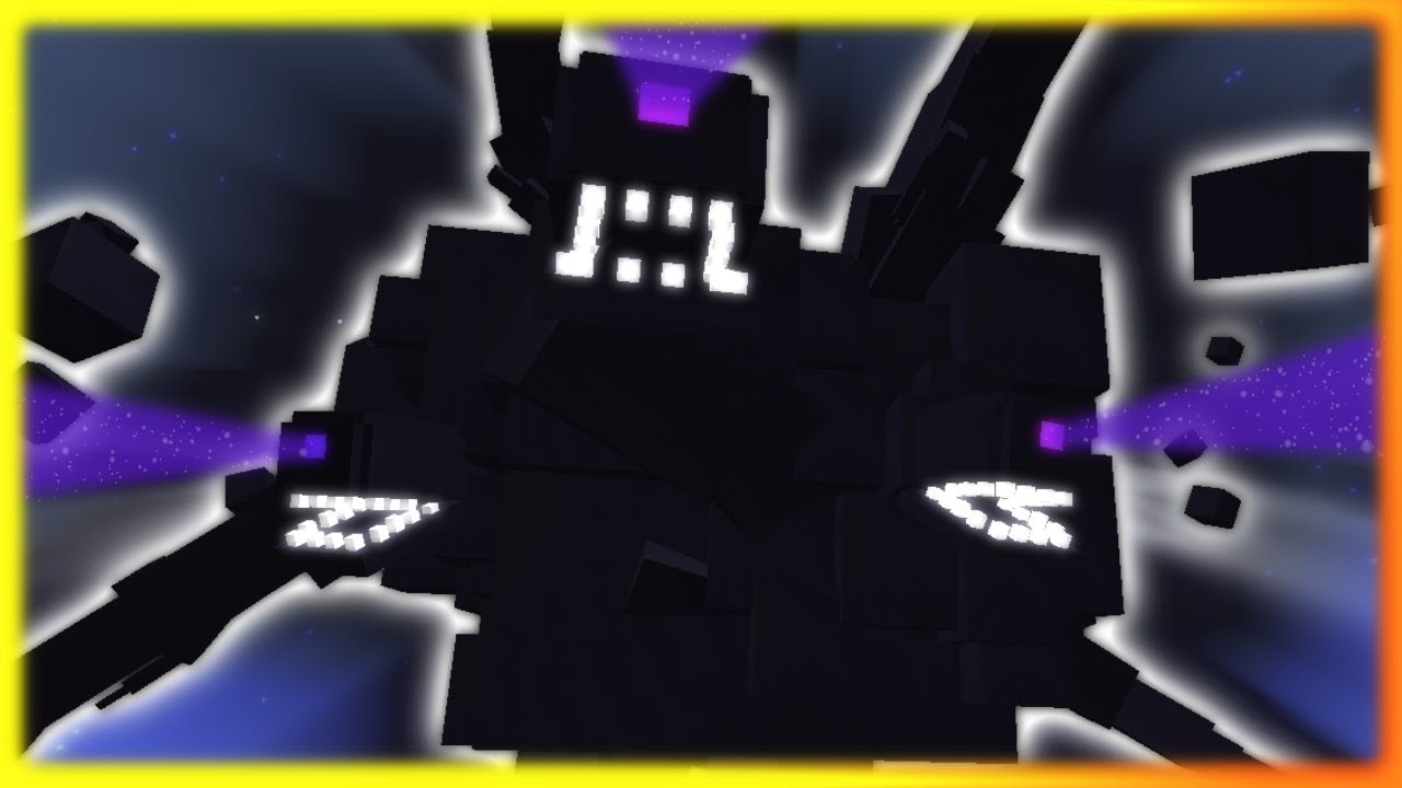 Witherstorm Boss Battle Minecraft 1 9 Map Youtube