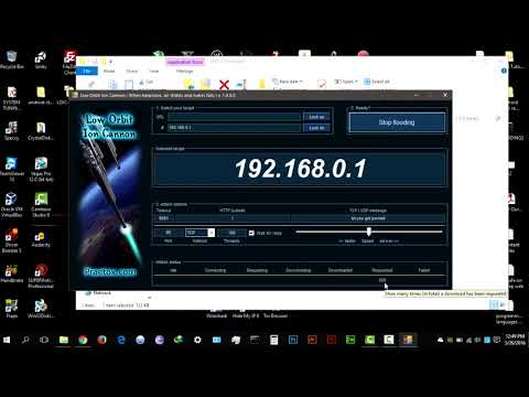 How To DDoS On Windows With LOIC How To Use LOIC